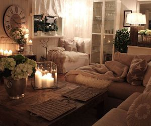 home, interior, and candle image