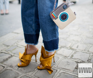 accessory, model, and street style image