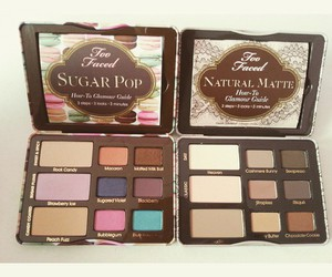 colors, palette, and toofaced image