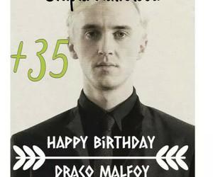 harry potter, draco, and birthday draco image