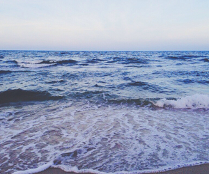 background, beach, and sea image