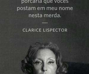 clarice lispector and text image