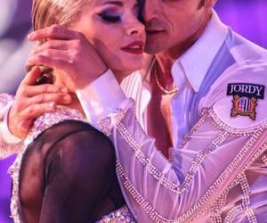 ballroom, couple, and dancer image