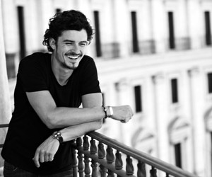 orlando bloom, actor, and handsome image
