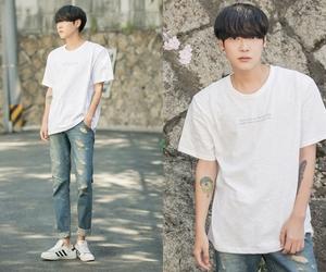 kfashion, ulzzang boy, and park hyung seok image