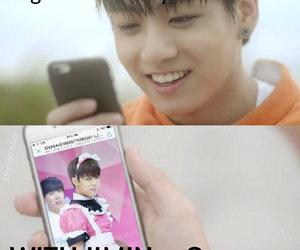 memes, jungkook, and jimin image
