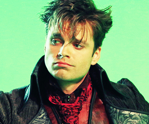once upon a time, sebastian stan, and jefferson image