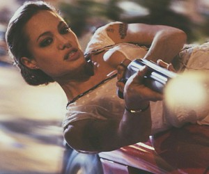 Angelina Jolie and wanted image