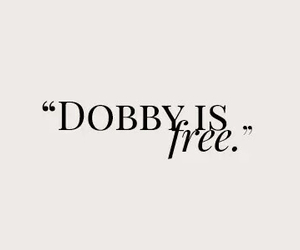harry potter, dobby, and free image