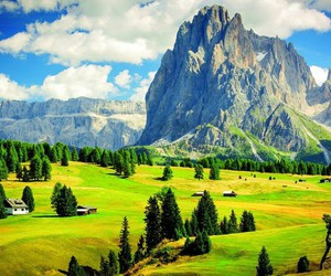 nature, mountains, and dolomites image