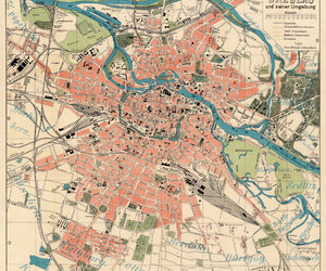 old city map, antique maps, and wall map image
