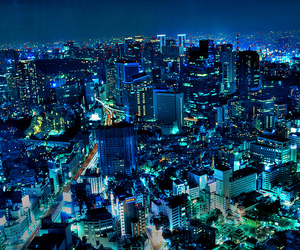asian, japanese, and night image