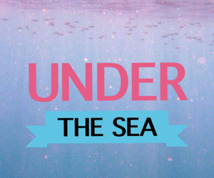 sea and under image
