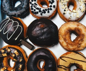 donuts, yummy, and fit image