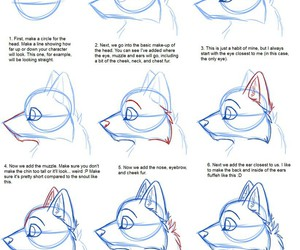 draw, art, and wolf image