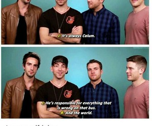 all time low, 5 seconds of summer, and calum hood image