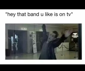 band, tv, and funny image