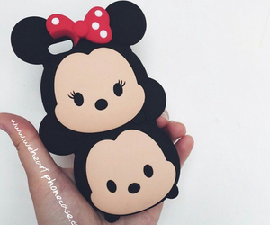 minnie, iphone, and mickey image