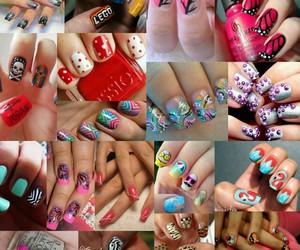 fashionable, nailpolish, and nails image