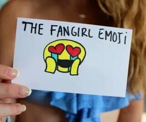 fangirl and emoji image