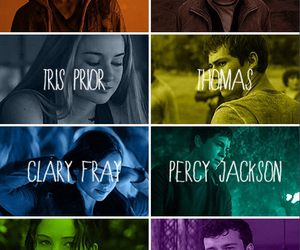 harry potter, percy jackson, and beautiful creatures image