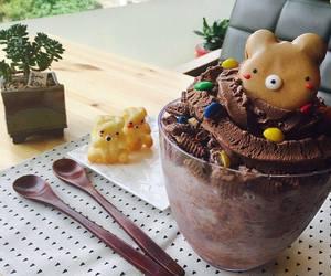 cute, chocolate, and ice cream image