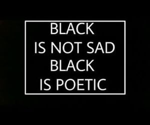 black, poetic, and quotes image