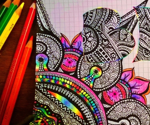 art, doodles, and drawings image