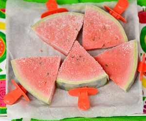 food, watermelon, and red image