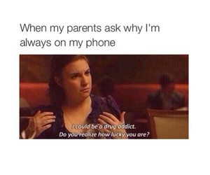 funny, phone, and parents image