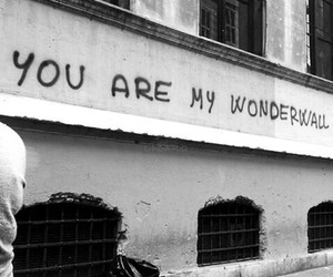 wonderwall, oasis, and quotes image
