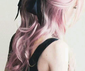 beautiful, bow, and goth image