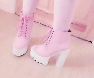 fashion, heels, and tights image