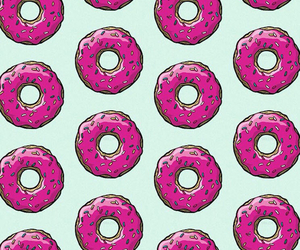 background, donuts, and i image