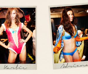 Adriana Lima, Karlie Kloss, and victoria secret image