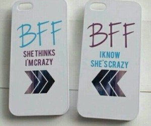 bff, crazy, and friends image