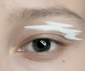 eye, white, and pale image