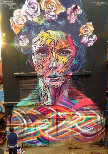 art, street art, and colors image