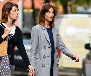alexa chung, outfit, and street style image