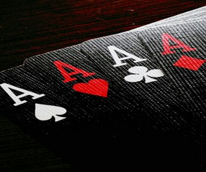 black, cards, and heart image