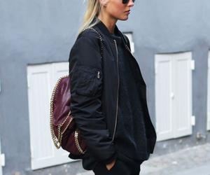 fashion, street style, and black image