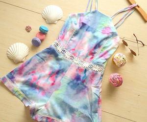 rompers, cupcakes, and fashion image