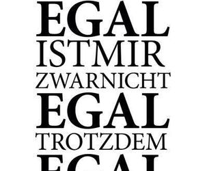 egal and german image