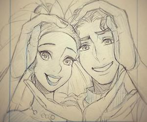 disney, love, and art image