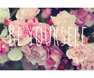 flowers, pink, and yourself image