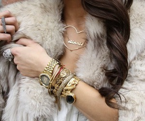 fashion, bracelet, and gold image