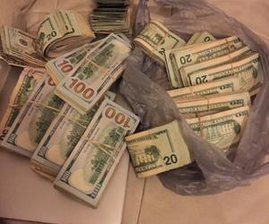 money, cash, and rich image