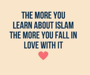 islam, muslim, and love image