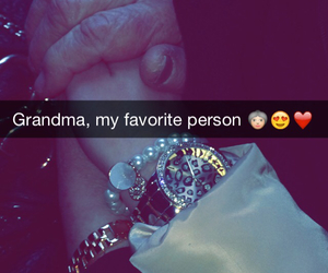 forever, grandma, and heart image
