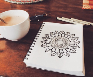 coffee and mandala image